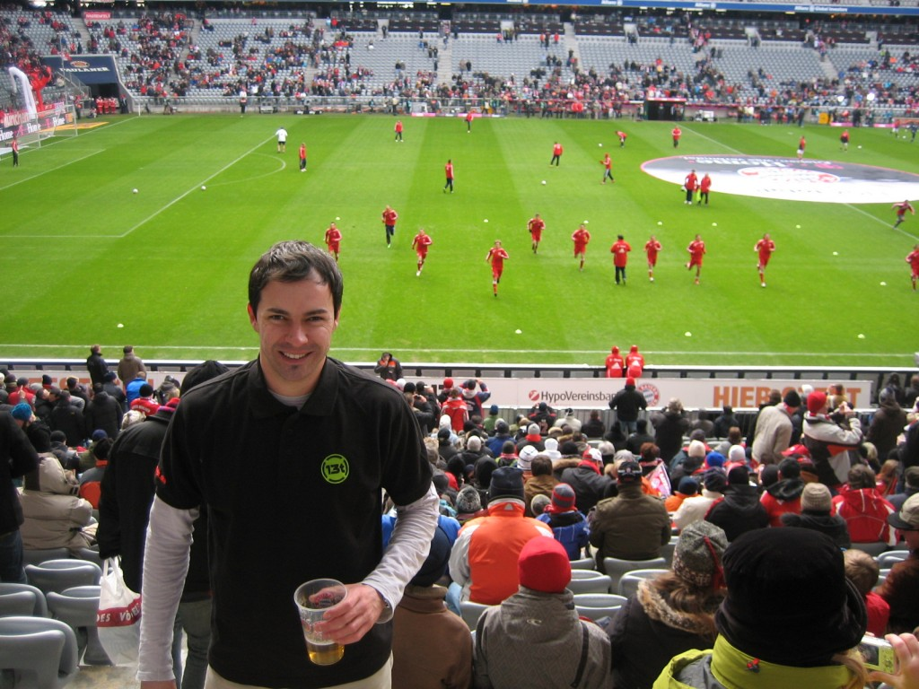 En el Allianz Arena, Munich