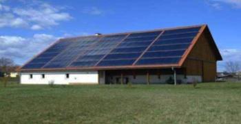 Planta de biomasa y energía solar térmica