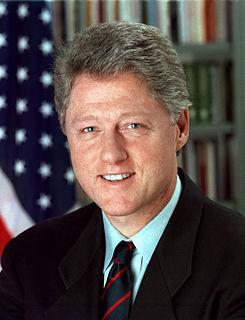 Bill Clinton, 1995. Fuente: Wikipedia